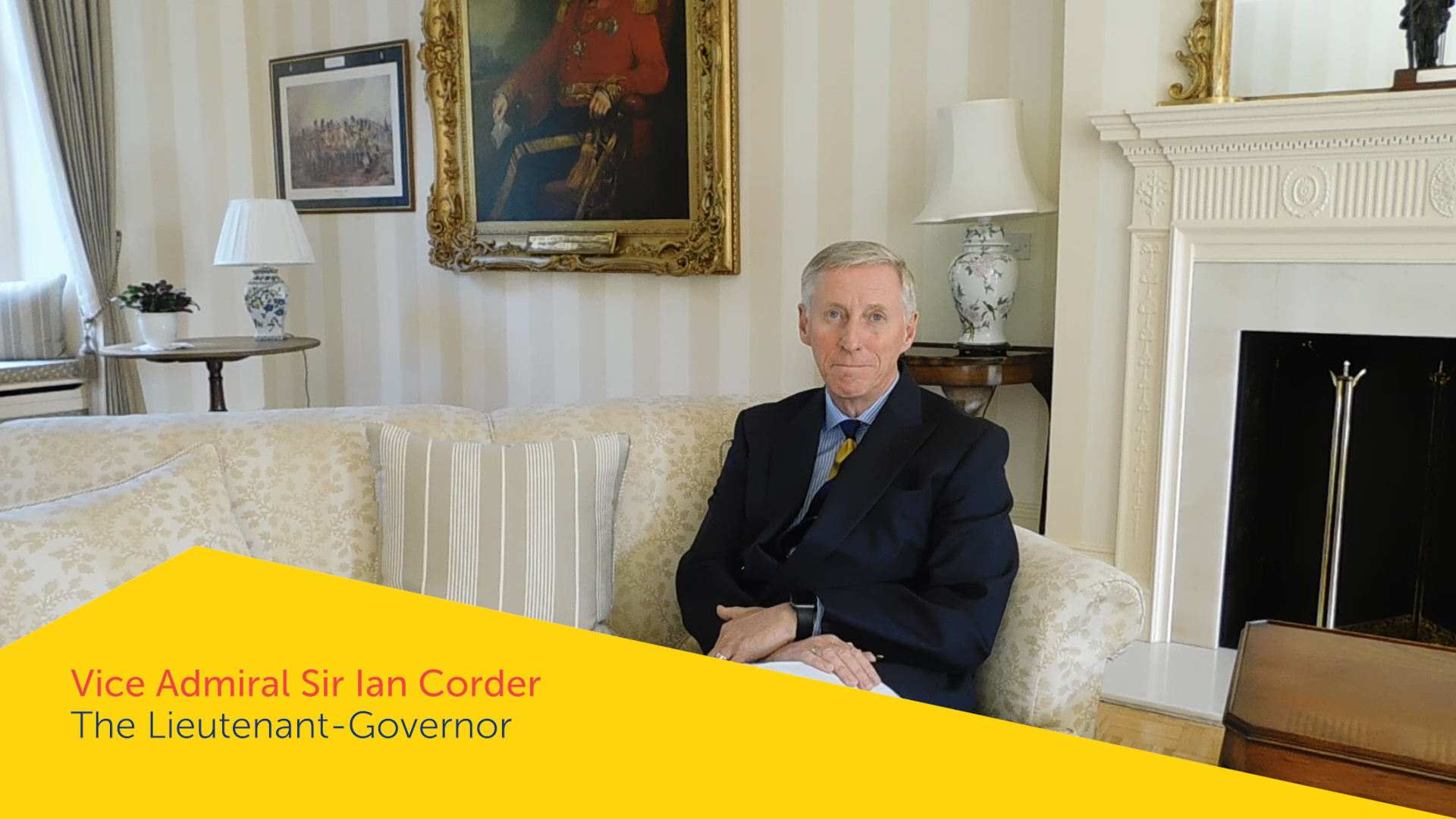 Vice Admiral Sir Ian Corder